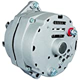 New Alternator Replacement For Self Exciting Low RPM Cut In W/Billet Style Pulley 100A 110...