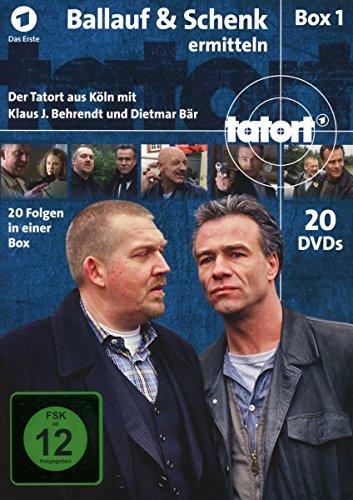 Tatort - Ballauf & Schenk ermitteln Box 1 [20 DVDs]