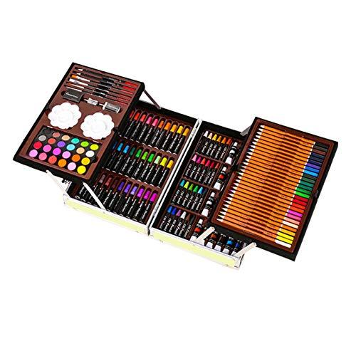 LAEMALLS Set di Disegno Artistico 120 Pezzi, Set Pittura Professionale con Valigetta, Comprende...