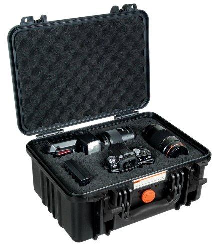 Vanguard Supreme 37D waterdichte fotokoffer zwart, Met schuimrubber, zwart, 41500 mm