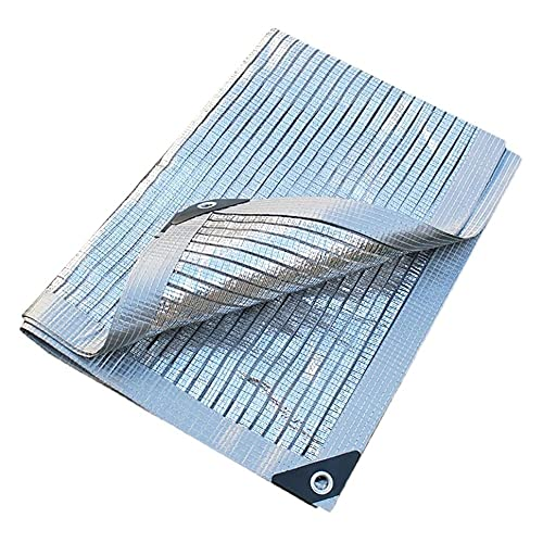 QIANGU Toldo De Terraza con Ojales Vela De Sombra Toldo Parasol Lámina De Aluminio Repelente del Agua Arena Protección UV para Exterior Jardín Terrazas (Size : 5×8m)