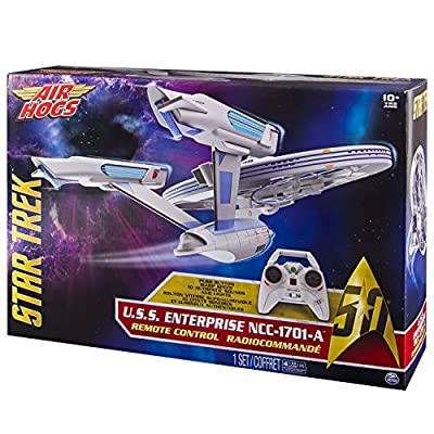 Air Hogs - 6027406 - Star Trek USS Enterprise - NCC1701-A - Remote Control - Light and Sound
