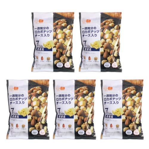 株式会社デルタインターナショナル デルタ ロカボナッツ チーズ入り 23g×7袋入【5個セット】
