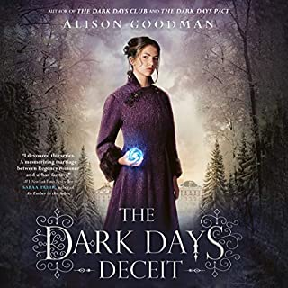 The Dark Days Deceit audiobook cover art