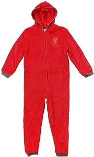 KidsBox Liverpool Football Combinaison en Polaire pour Homme//Femme