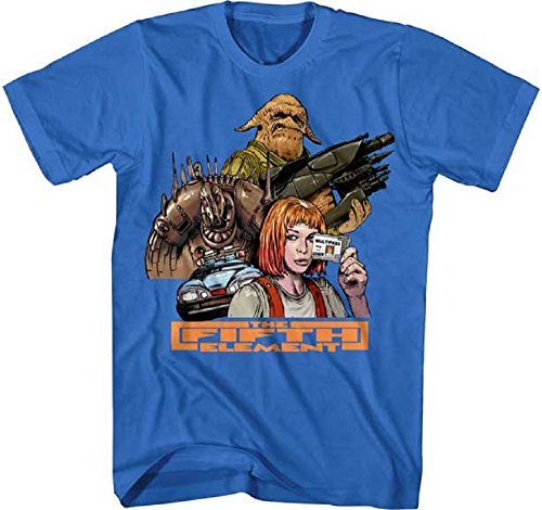 Fifth Element Movie Group Adult Graphic Tee Shirt (X-Large)