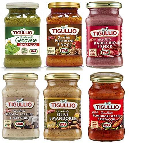 TESTPAKET Star Tigullio Gran Pesto 6 x 190g Sauce Soße