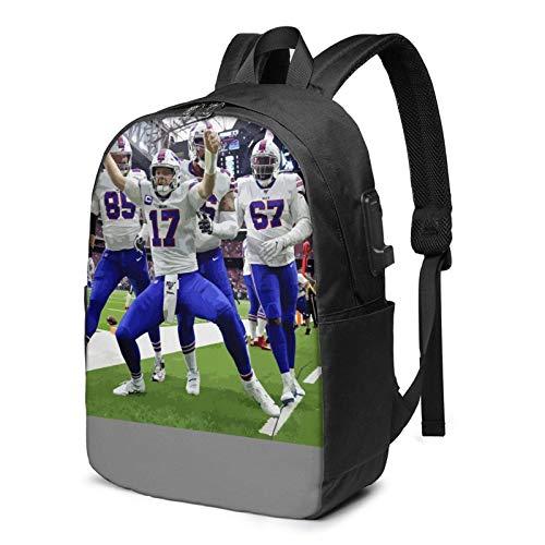 IUBBKI Bolsa para computadora mochila USB J-O-Sh A-Lle-N 17 Inch Laptop Backpack For Men & Women,Travel/School Backpack With Usb Charging Port & Headphone Interface