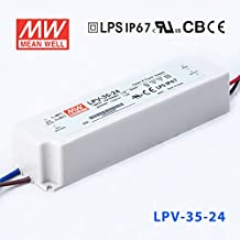 MeanWell LPV-35-24 Power Supply - 35W 24V - IP67