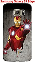 Captain America: Civil War & Characters for Samsung Galaxy S7 Edge Hard Case Cover (war8)