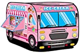 Kiddie Play Ice Cream Truck Pop Up Kids Play Tent for Boys & Girls Indoor Outdoor Toy