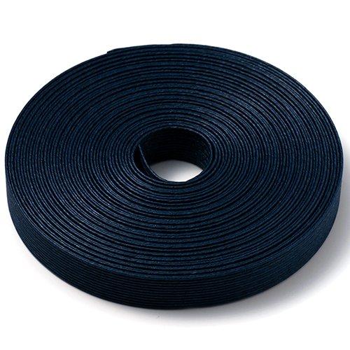手芸用 エコ クラフトテープ 江戸藍 10m巻 幅15mm 12芯 紙 バンド テープ 日本製
