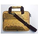 Watson Notebooktasche DNB 1011 | 25,6-29,4 cm | 10,1-11,6' | Design Landkarte | Laptoptasche |...