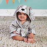 FISISZ Albornoz de bebé con diseño de Animales con Capucha/Toalla de SPA para...