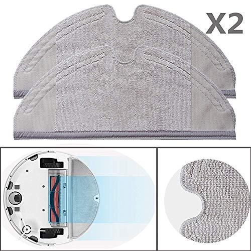 Original Xiaomi Mi Robot 2 Roborock S50 Vacuum Cleaner 2er Pack Wischtücher Mopping Cloth