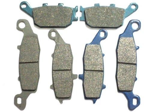 Master Chen Front Rear Brake Pads Brakes for Suzuki GSXR 600 750 1000 FA379F FA254R MC0080-PAD