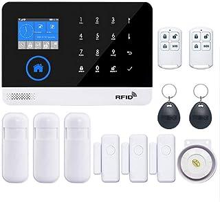 siwetg Seguridad para El Hogar WiFi Inalámbrico gsm 3G GPRS Sistema De Alarma App Control Remoto Kit De Tarjeta RFID