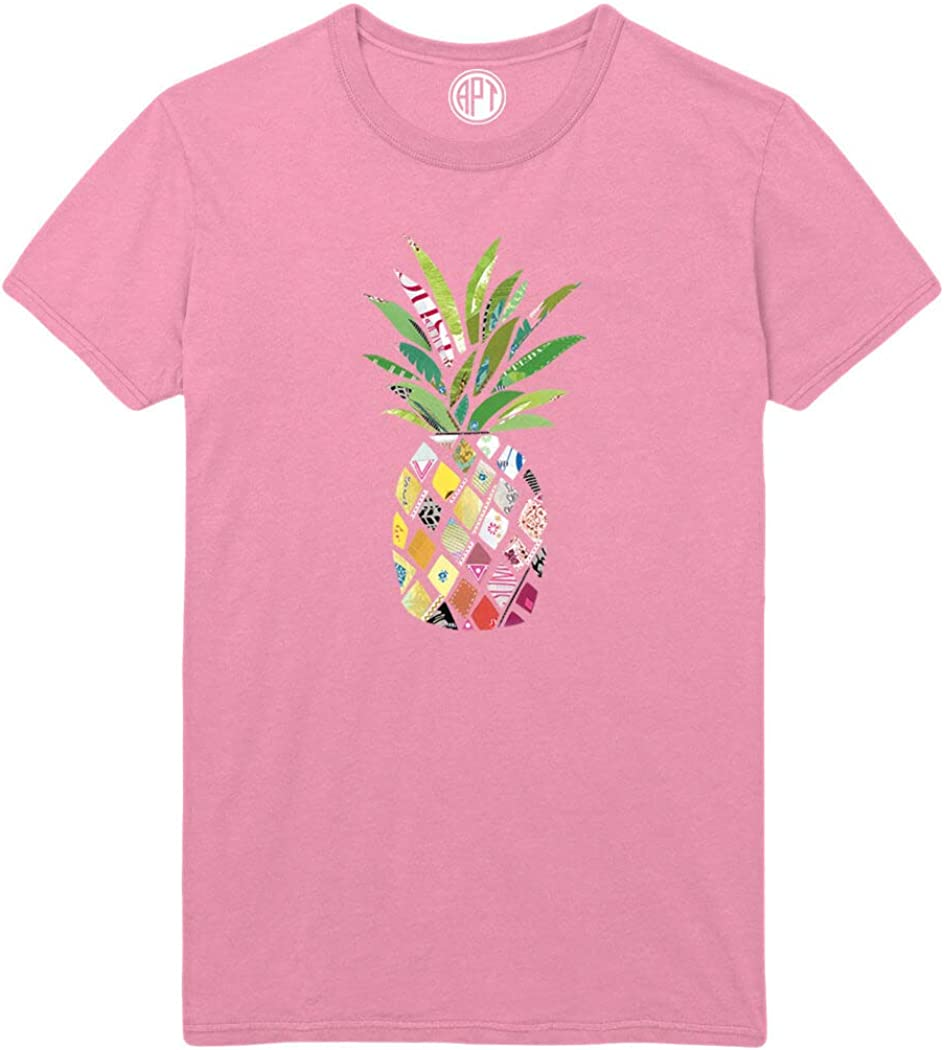 Patterned Pineapple Printed T-Shirt