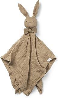 Elodie Details Baby och småbarn täcke Blinkie i 100 % Oeko-Tex extra mjuk bomull - sandig, beige