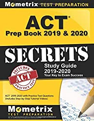 ACT Prep Book 2019 & 2020: ACT Secrets Study Guide - Best ACT Prep Books