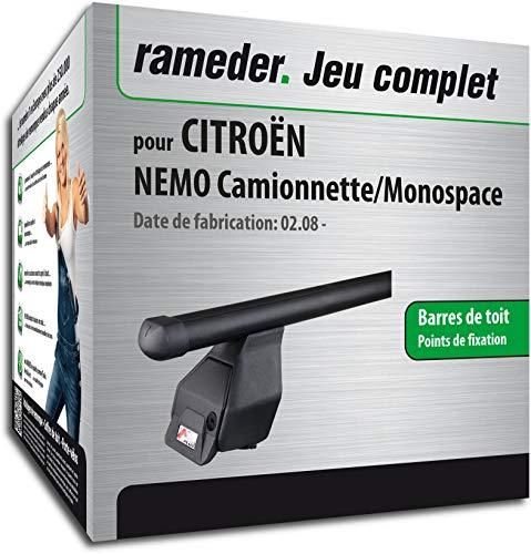 Rameder Pack, Barres de Toit Tema Compatible avec CITROËN Nemo Camionnette/Monospace (118848-06733-12-FR)