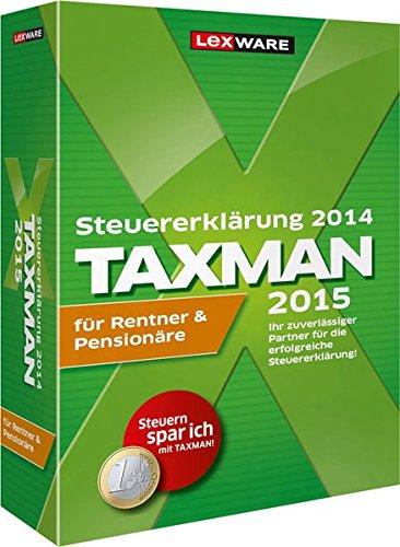 TAXMAN 2015 für Rentner & Pensionäre (für Steuerjahr 2014)