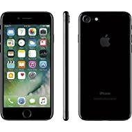 Apple iPhone 7, 128GB, Jet Black - for AT&T/T-Mobile (Renewed)