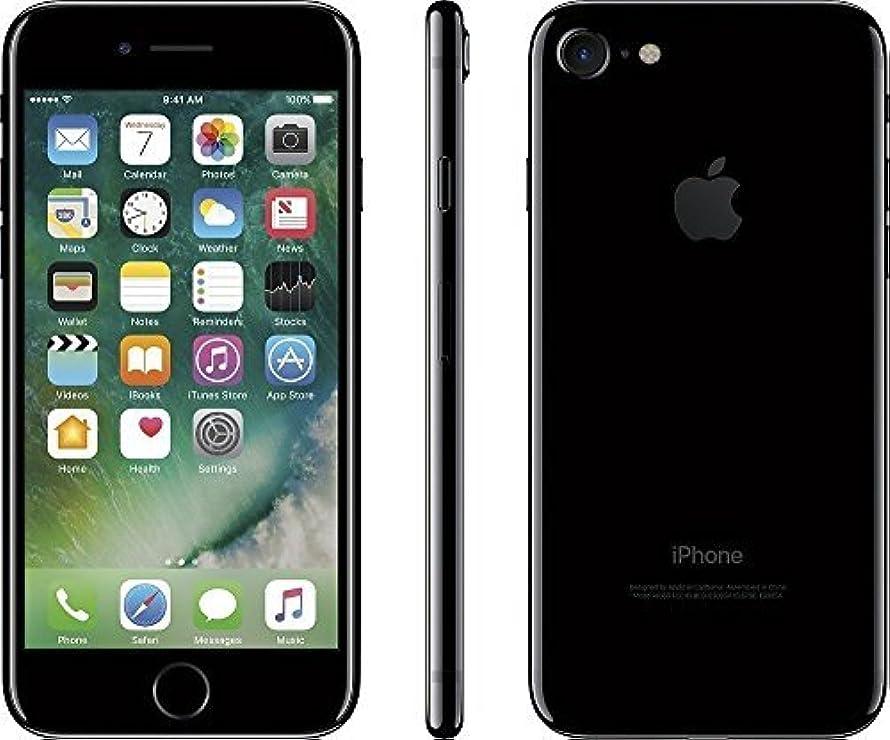 Apple iPhone 7, GSM Unlocked, 128GB - Jet Black (Renewed)