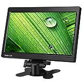 Koolertron10インチCCTV液晶モニター 解像度1024*600 TFT LCDモニターディスプレイ スピーカー内蔵 HDMI/VGA / AVポートサポート1080P  DSLR/PC/CCTVカメラ/DVD/ホームオフィス監視セキュリティシステムに