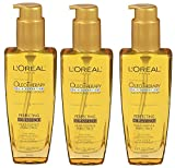 L'Oreal Paris Hair Expertise OleoTherapy Perfecting Oil-Essence, 3.4 fl Fluid Ounces (Pack of 3)