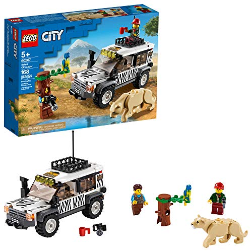 LEGO City Safari Off-Roader 60267 Off-Road Toy, Cool Toy for Kids (168 Pieces)
