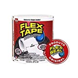 "Flex Tape Rubberized Waterproof Tape, 4"" x 5', White"