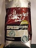 Allegro Coffee - Organic Espresso Sierra, Ground Coffee, 12 oz, (Pack of 3)