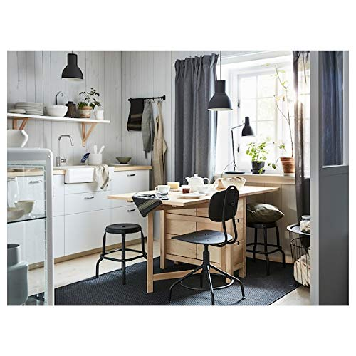 DiscountSeller NORDEN Gateleg table, birch, 26/89/152x80 cm, durable and easy to care for. Extendable tables. Dining tables. Tables & desks. Furniture. Environment friendly.