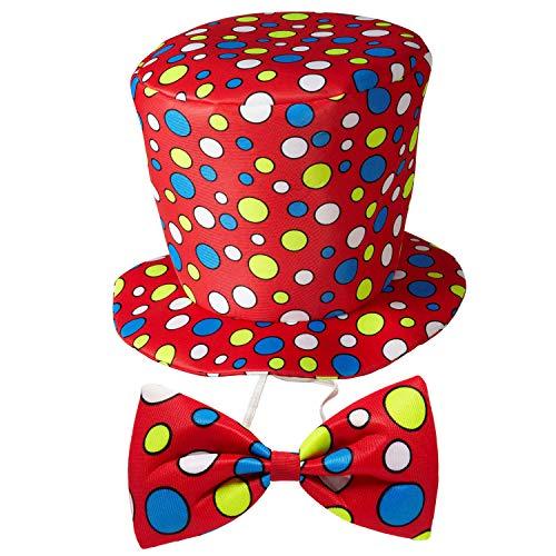 WIDMANN 91441 – Sombrero de Payaso con Pajarita, Juego de...