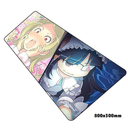 IGZNB Senran Kagura Mauspad Hd Muster Notbook Computer Gaming Gamer Laptop 80X30Cm Mauspads Farbe I