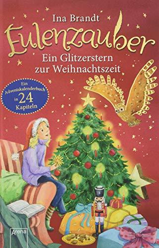 Eulenzauber. Ein Glitzerstern zur Weihnachtszeit: Ein Adventskalender-Buch in 24 Kapiteln. Ab 8 Jahren: Eine Adventskalendergeschichte in 24 Kapiteln