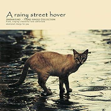 비 오는 거리를 헤매며