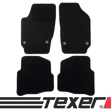 Carmat Texer Textil Fußmatten Passend Für Vw Polo Iv 9n Bj 2001 2009 Basic Auto