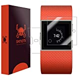 Skinomi Full Body Skin Protector Compatible with Fitbit Surge (Screen Protector + Back Cover) TechSkin Full Coverage Clear HD Film