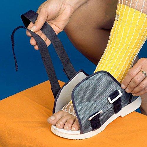 Postoperativer Patientenschuh - Damengröße M 37-39 groß economy Nach operativen Eingriffen Gipsschuhe Schuhe für Gips Überzug Gipsschuh orthopädische Rehaschuhe Verbandschuhe Damen