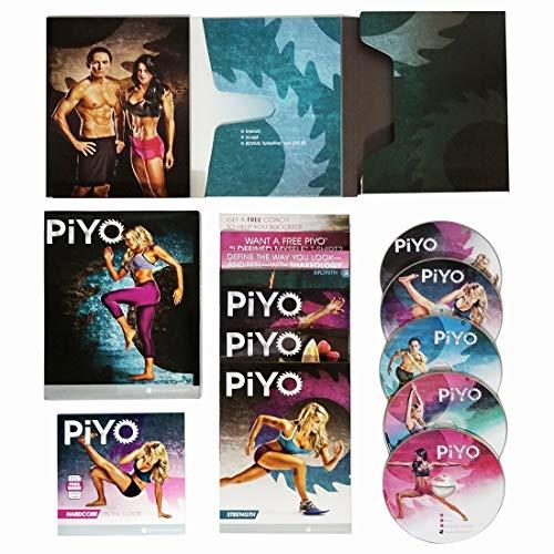 netsdoctor PiYo DVD,Chalene Johnson Pilates Yoga Workouts Fitness Program