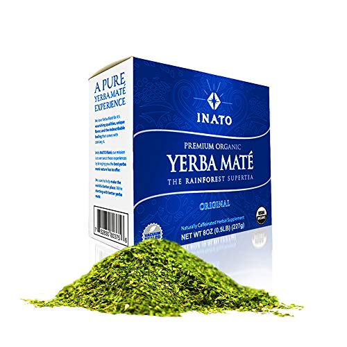 INATO PREMIUM Yerba Mate | Special Grade | Organic | Rainforest Grown | Leaf Only | Shade Grown |...