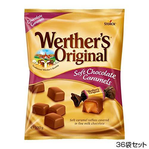 ストーク ヴェルタースオリジナル チョコトフィー 100g×36袋セット