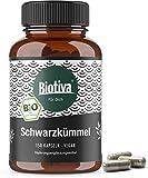 capsules de graines noir (150 pièces) - 600 mg par capsule poudre de graine noire d'Egypte - Nigella sativa - 100% végétarien - sans aucun additif - fabriqués et contrôlés en Allemagne (DE-ECO-005)