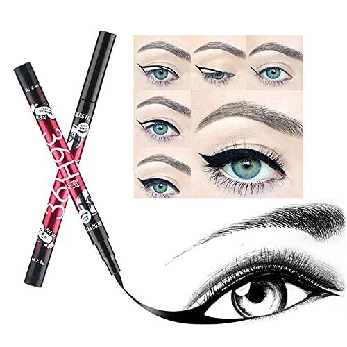 1pcs Doublure imperméable Long Lasting Noir Crayon pour les yeux Quick Dry -Preuve Traceur liquide Pen Maquillage des yeux cosmétiques TSLM2