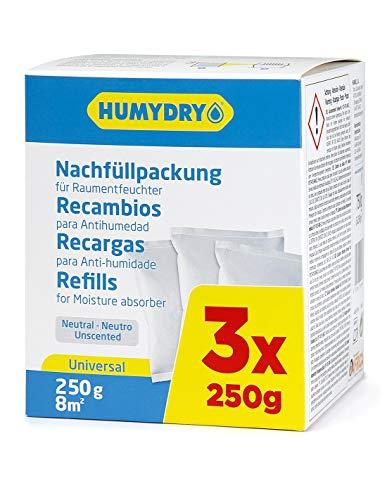 HUMYDRY Nachfüllpackungen 3x250g