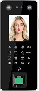 Fingerprint/Face/Password/Card (Compatible with ID/IC Card) Recognition FA50 Dual HD Smart Home Intelligent Attendance Machine Access Control System, IR Lights, Standard TCP/IP+U Disk Interface