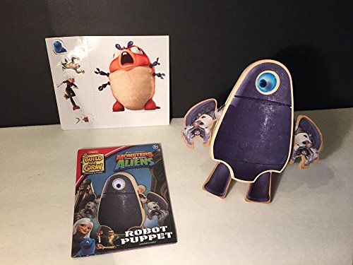 Qiyun Lowes Build and Grow Monsters vs Aliens Robot Puppet New in Package LoweS