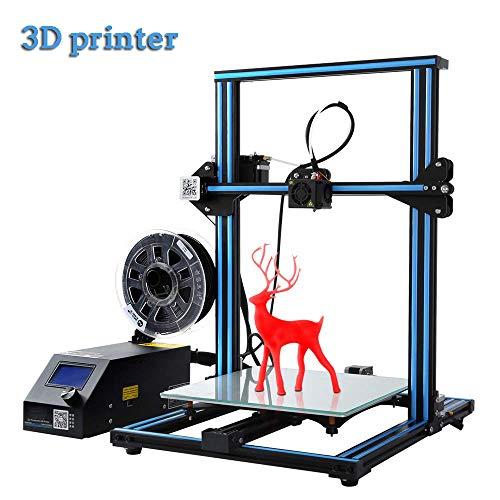 QinLL Imprimante 3D, avec Moniteur de Filament, Carte de Commande Mise à Niveau et vis Double Z 300 x 300 x 400 mm, système de poulie linéaire, Reprise de l'impression avec Mise Hors Tension